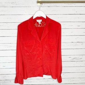 Christian Dior Vintage Chemises Button Down Blouse